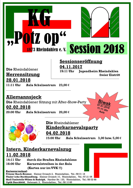 Programm Flyer